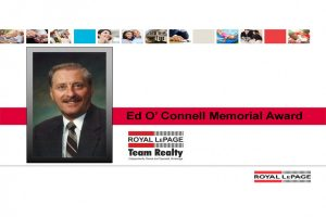 Ed O'Connell Memorial Award